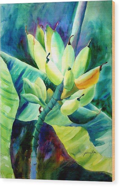Bananas 6-12-06 Julianne Felton Wood Print