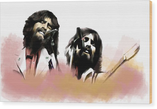 Bangladesh  George Harrison Wood Print