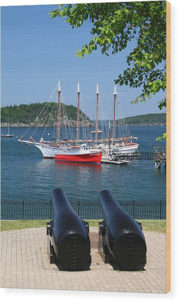 Bar Harbor Wood Print by Acadia Photography