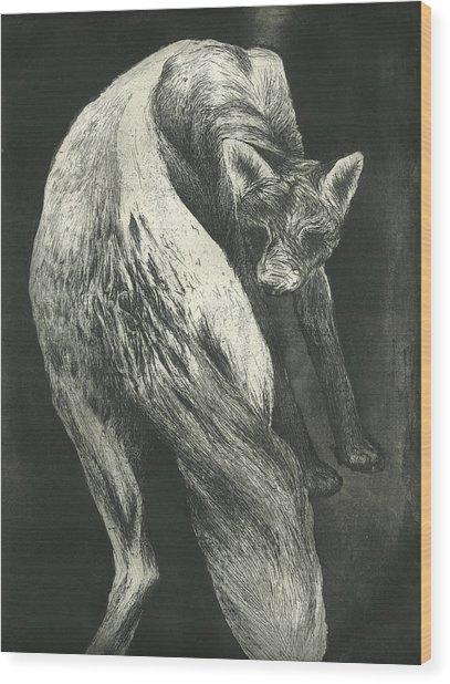 Bark Wood Print by Rebecca Bourke