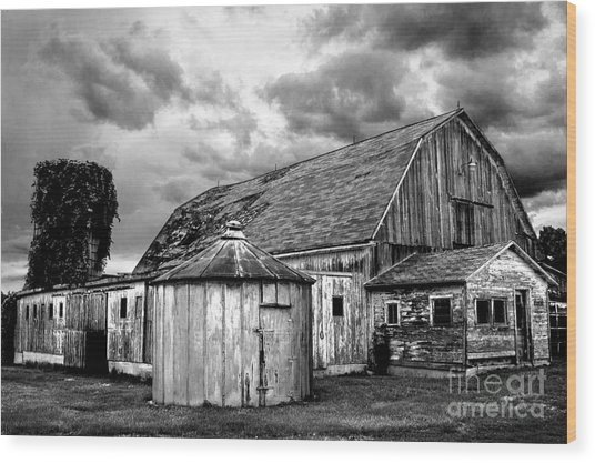 Barn 66 Wood Print