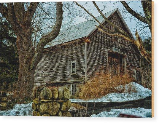 Barn 7087 Wood Print