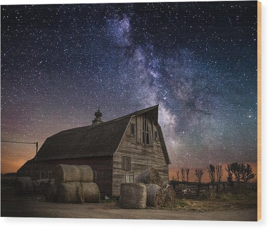 Barn Iv Wood Print