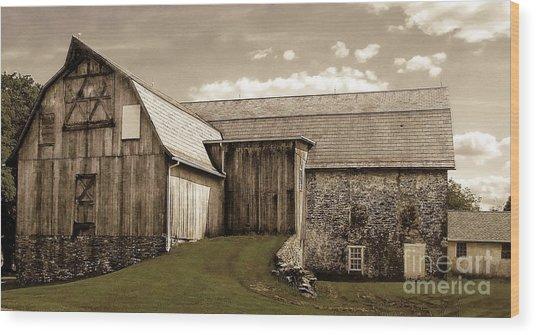 Barn Series 1 Wood Print