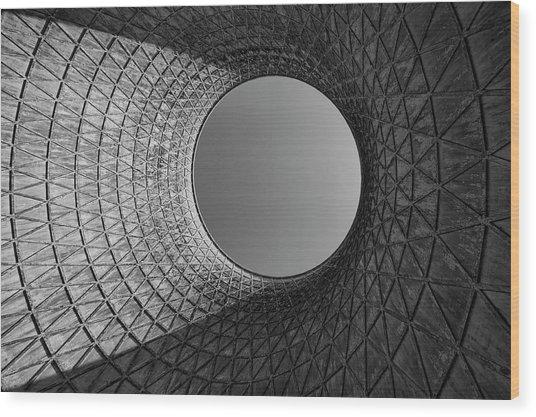 Barrel Sky Wood Print