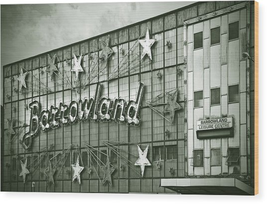 Barrowland Glasgow Wood Print