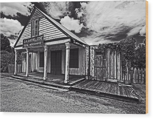 Barthel General Merchandise Store Wood Print