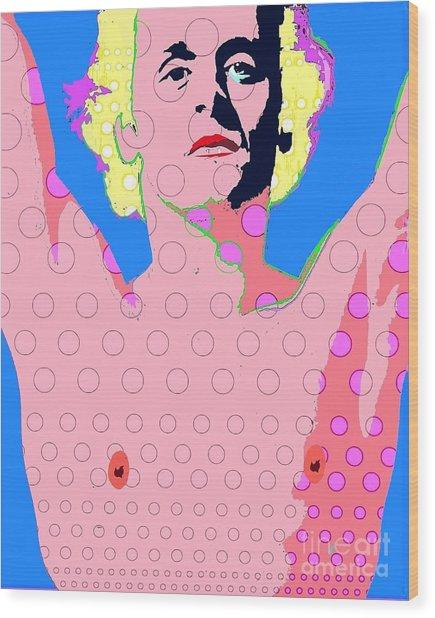 Baryshnikov Wood Print by Ricky Sencion