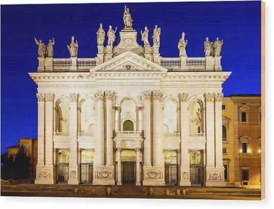 Basilica Di San Giovanni In Laterano Wood Print