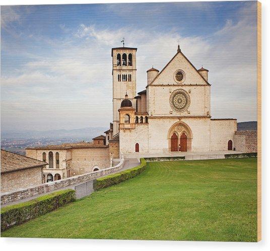 Basilica Of Saint Francis Wood Print