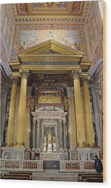 Basilica Of St John Lateran  Wood Print