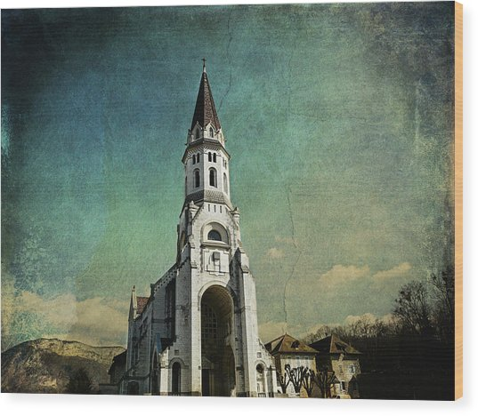 Basilica Of The Visitation Wood Print