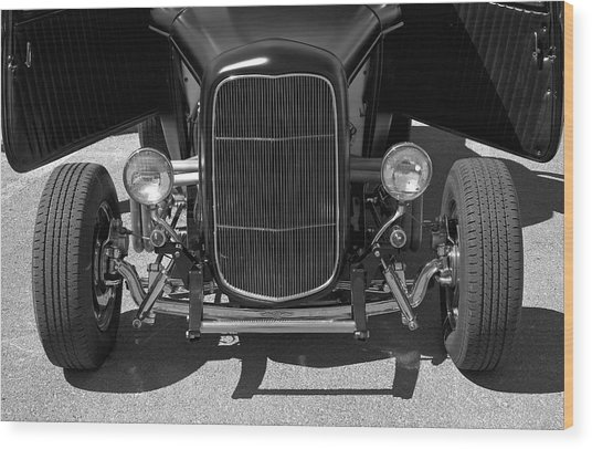 Bat Wings - Ford Coupe Wood Print