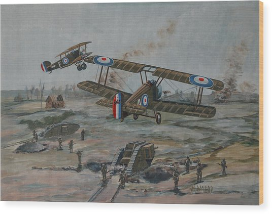 Battle Of Amiens Wood Print