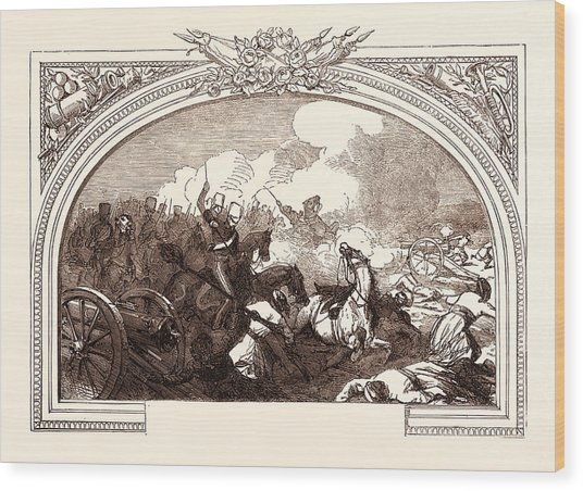 Battle Of Ferozeshah, Lord Gough, December 21st Wood Print