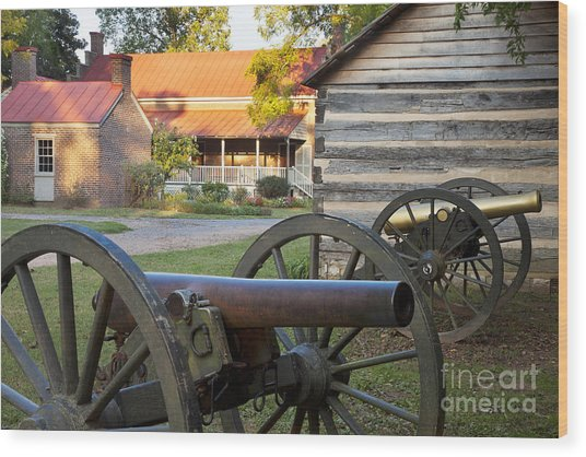 Wood Print featuring the photograph Battle Of Franklin by Brian Jannsen