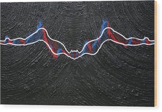Batwomen - The Chart Wood Print by Antonio Wehrli