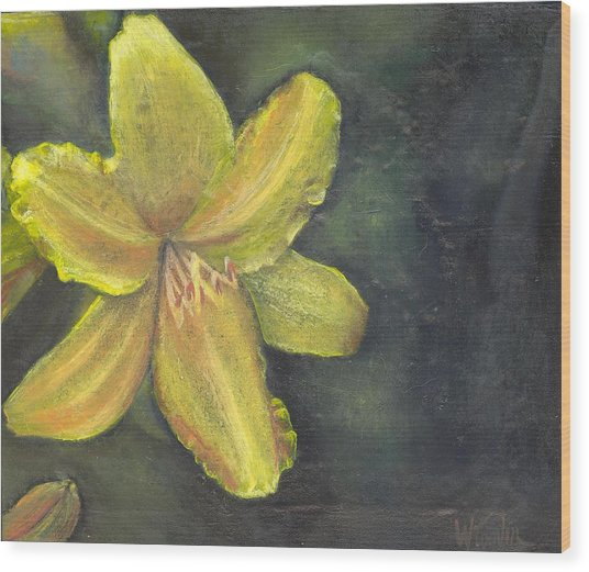 'be A Lily Among Thorns' Wood Print