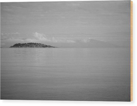 Be Still My Ocean  Wood Print