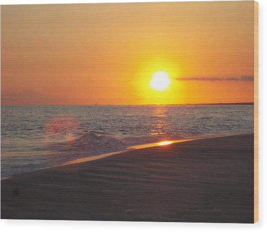 Beach #8 Wood Print