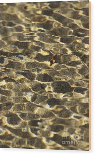 Beach Abstract 12 Wood Print