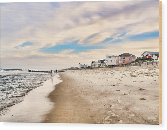 Beach Haven Wood Print