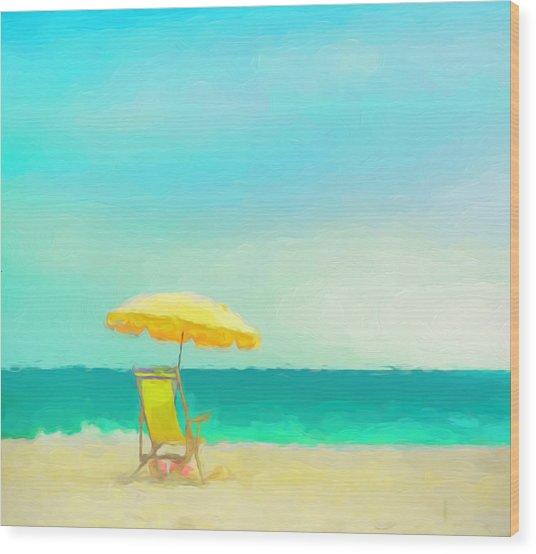 Got Beach? Wood Print