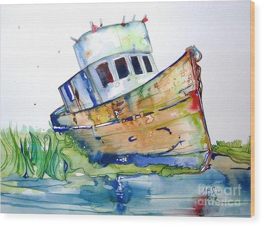 Beached Wood Print by Maya Simonson