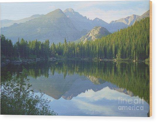 Bear Lake Colorado Wood Print