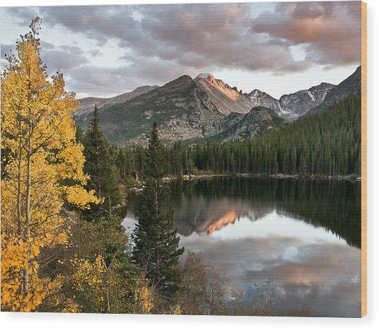 Bear Lake Sunset Wood Print by Robert Yone