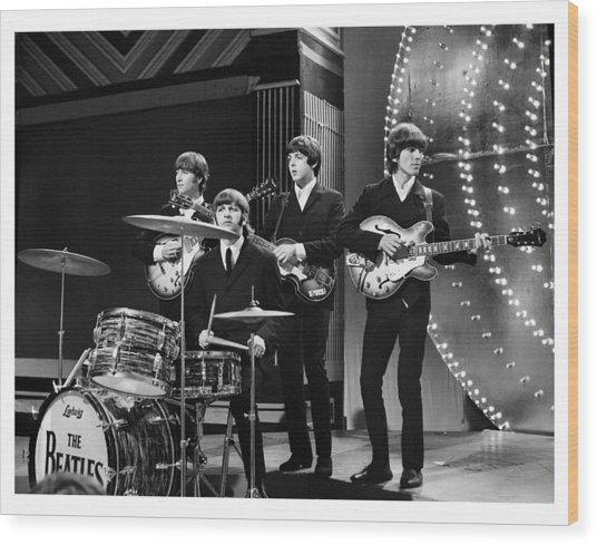 Beatles 1966 Limited Edition Wood Print