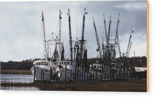 Beaufort Fleet Wood Print