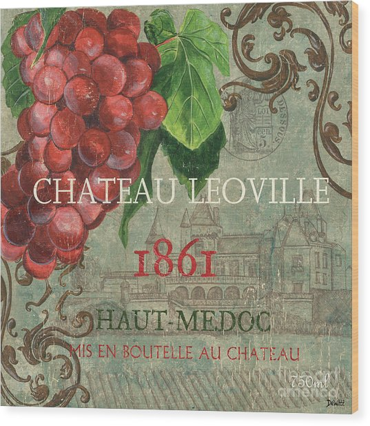 Beaujolais Nouveau 1 Wood Print