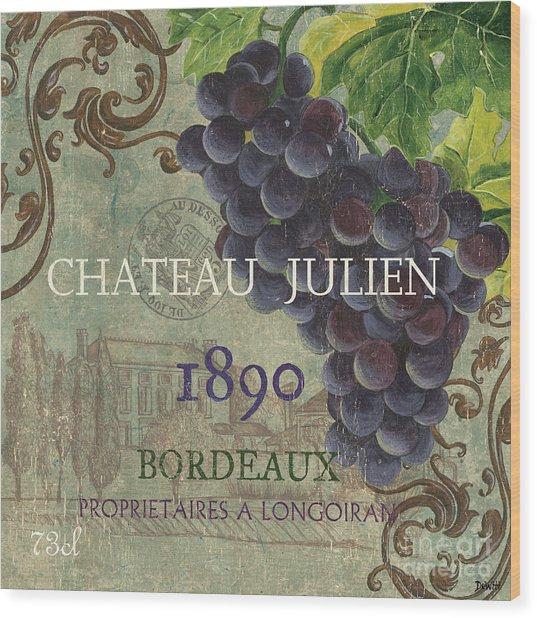Beaujolais Nouveau 2 Wood Print