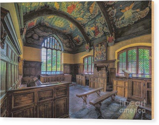 Beautiful 17th Century Chapel Wood Print