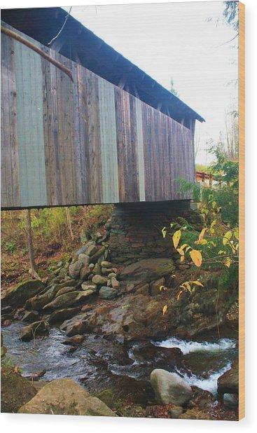Beautiful Bridge  Wood Print