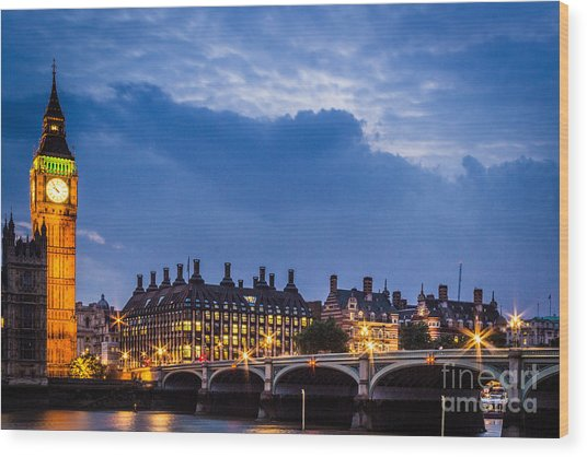 Beautiful London Wood Print