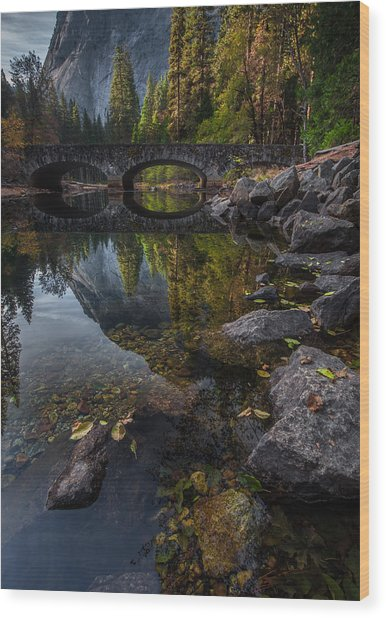 Beautiful Yosemite National Park Wood Print