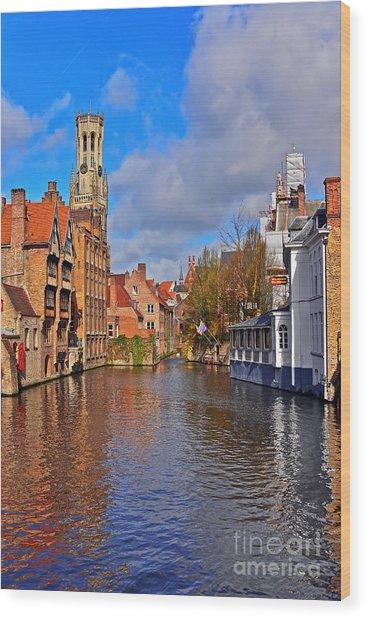 Beauty Of Belgium Wood Print