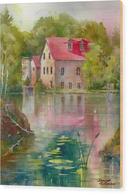 Bedford Mill Wood Print