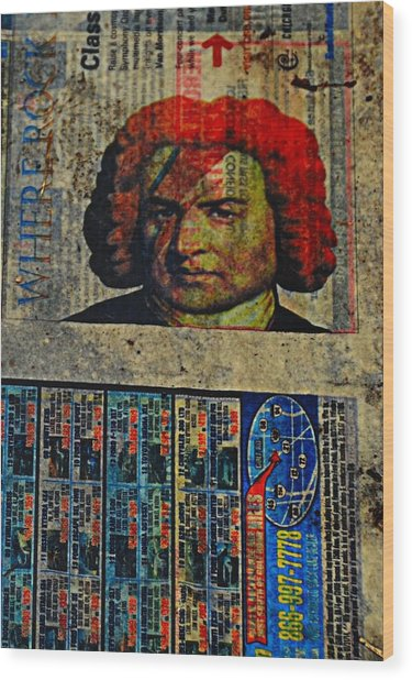 Beethoven02 Wood Print