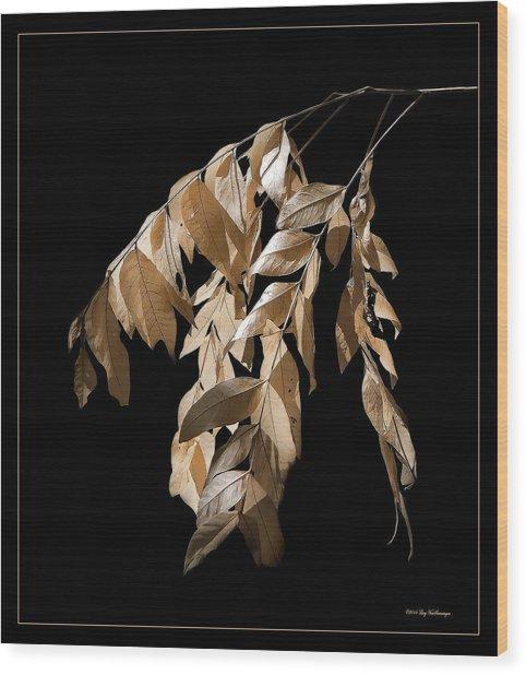 Before The Fall Wood Print