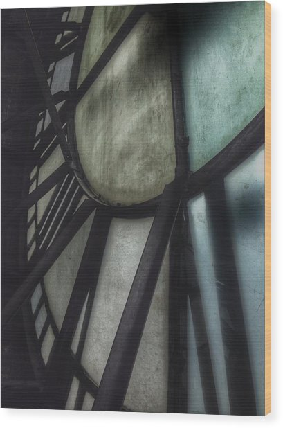Behind The Clock - Emerson Bromo-seltzer Tower Wood Print