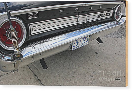 Behind The Galaxie Wood Print