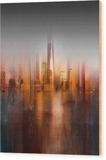 Behind The Window Wood Print by Carmine Chiriac?