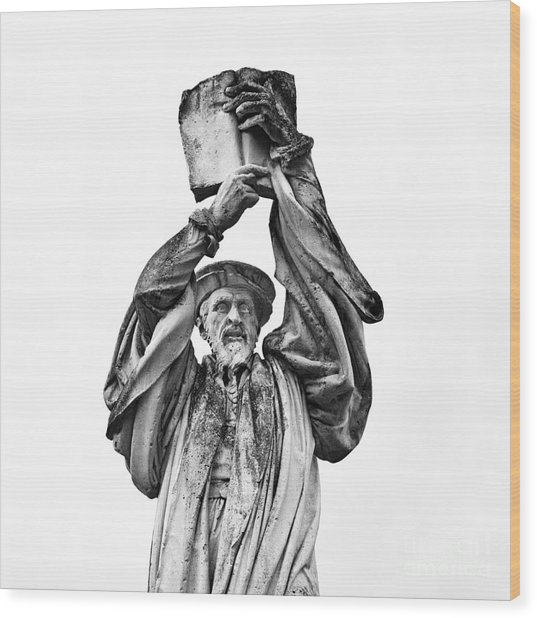 Behold The Word Of God Wood Print