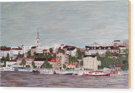Belgrade Serbia Wood Print