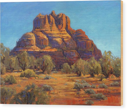 Bell Rock, Sedona Arizona Wood Print