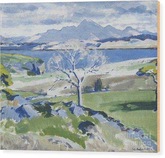 Ben Cruachan From Achnacraig Wood Print