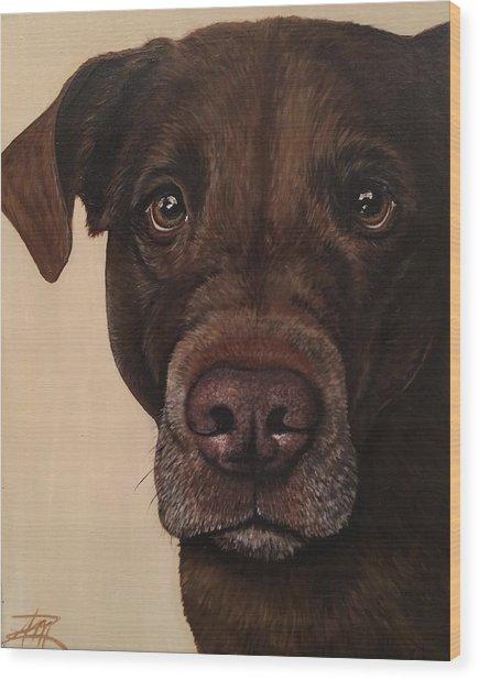 Benji Wood Print